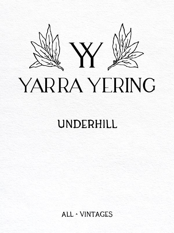 Yarra Yering Underhill Shiraz