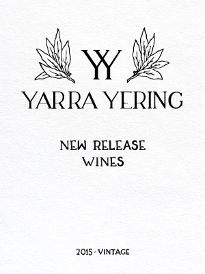2015 Vintage New Release Wines