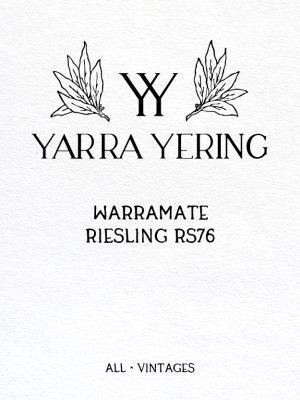 Warramate Riesling